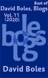 Best of David Boles, Blogs: Volume 11 (2020)