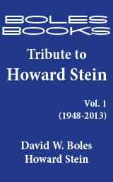Boles Books Tribute to Howard Stein