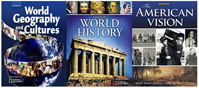 World Geography and Cultures, Glencoe World History, The American Vision